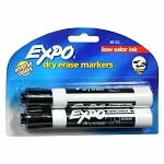 Expo Dry Erase Markers Chisel Tip- 2 Each
