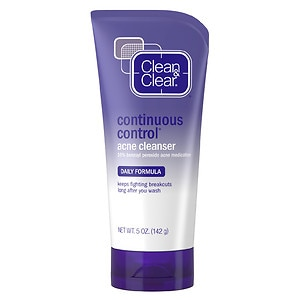 Clean & Clear Continuous Control Acne Cleanser- 5 oz