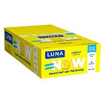 Luna Nutrition Bar for Women, Lemon Zest, 15 pk- 1.69 oz