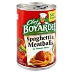 Chef Boyardee Spaghetti & Meatballs- 14.75 oz