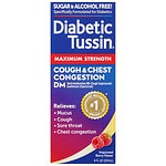 Diabetic Tussin Cough Suppressant & Expectorant DM Maximum Strength Liquid