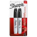 Sharpie Permanent Markers Chisel Tip- 2 Each