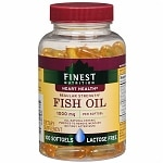 Finest Nutrition Fish Oil 1000 mg Dietary Supplement Softgels, 44