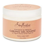 SheaMoisture Coconut & Hibiscus Curling Gel Souffle- 12 Ounces