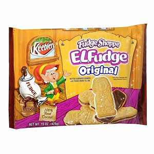 Keebler E.L. Fudge Butter Sandwich Cookies, 34, 15 Ounces (030100558224)
