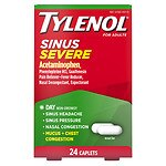 TYLENOL Sinus Congestion & Pain Severe Caplets- 24 Each