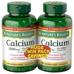 Nature's Bounty Calcium 1200 mg Plus Vitamin D3 Dietary Supplement Softgels