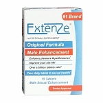 Extenze Male Enhancement Nutritional Supplement, Tablets- 15 ea