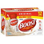 Boost Original Complete Nutritional Drink, Very Vanilla, 8 oz Bottles, 12 pk- 8 oz