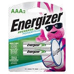 Energizer Rechargeable NiMH Batteries, AAA