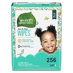 Seventh Generation Thick n' Strong Baby Wipes Refill, Free & Clear- 256 ea