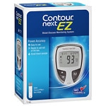 CONTOUR NEXT Blood Glucose Monitoring System, Gray