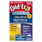 Cold-Eeze Daytime / Nighttime QuickMelt, Mixed Berry