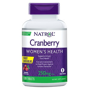 Natrol Cranberry 250 mg, Fast Dissolve, Tablets