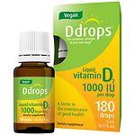 Ddrops Vegan Vitamin D2 1000IU- .17 oz