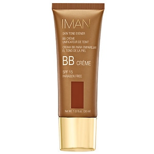 IMAN Skin Tone Evener BB Cream SPF 15, Earth Medium- 1 oz