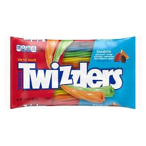 Twizzlers Rainbow Twists Bag, 12.4 oz (034000502349)