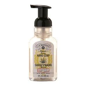J.R. Watkins Naturals Foaming Hand Soap, Aloe & Green Tea, 9 oz
