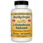 Healthy Origins L-Glutathione Reduced 250 mg, Capsules- 60 ea