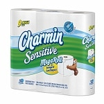 Charmin Sensitive Bath Tissue, Mega Rolls