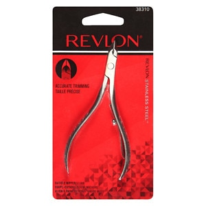 Revlon Cuticle Nippers, Half-Jaw- 1 ea