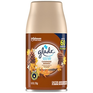 Glade Automatic Spray Refill, Cashmere Woods- 1 ea