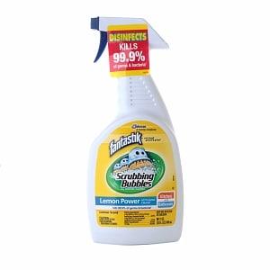 Fantastik scrubbing bubbles cleaner lemon for Scrubbing bubbles bathroom cleaner ingredients