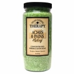 Village Naturals Therapy Aches & Pains Relief Mineral Bath Soak, Mineral Bath Soak