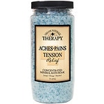 Village Naturals Therapy Stress & Tension Relief Mineral Bath Soak, Mineral Bath Soak