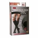 +MD Ultimate Travel Over the Calf Bamboo Compression Socks,
