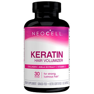 NeoCell Keratin Hair Volumizer Tablets- 60 ea