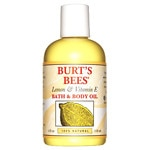 Burt's Bees Body & Bath Oil, Lemon & Vitamin E- 4 fl oz