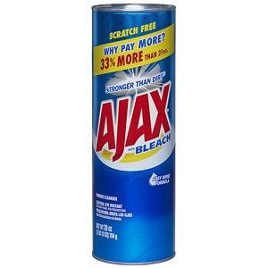 Ajax Powder Cleanser with Bleach- 28 oz