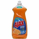 Ajax Triple Action Dish Liquid Soap, Orange