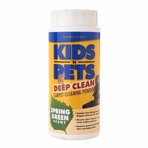 Kids'N Pets Deep Clean Carpet Powder, Spring Green- 16 oz