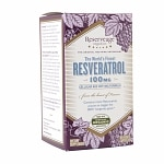 ReserveAge Organics Resveratrol 100mg, Veggie Caps