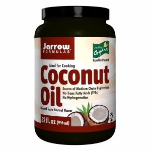Jarrow Formulas Coconut Oil 100% Organic- 32 oz