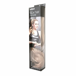 Scunci Curly Style Faux Hair Ponytail, 20 inch, Light Blonde- 1 ea