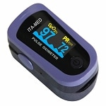 ITA-MED Fingertip Deluxe Pulse Oximeter with 6-way OLED display- 1 ea