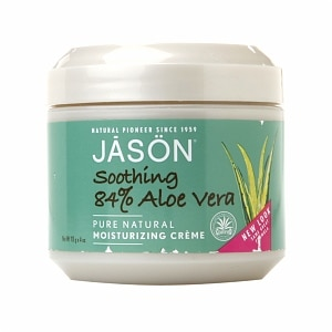 JASON Moisturizing Creme, Soothing 84% Aloe Vera- 4 oz