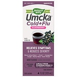 Nature's Way Umcka Soothing Syrup, Intensive Cold + Flu, Berry