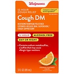 Walgreens Cough DM 12 Hour Adult Orange