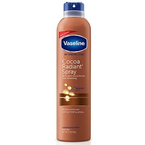 Vaseline Intensive Care Spray Moisturizer, Cocoa Radiant- 6.4 oz