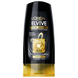 L'Oreal Paris Advanced Haircare Total Repair 5 Restoring Conditioner, Family Size- 25.4 fl oz