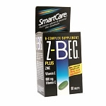 SmartCare Z-Bec B-Complex Supplement, Tablets
