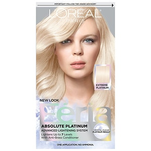 L'Oreal Paris Feria Permanent Haircolor, Extremely Platinum- 1 ea