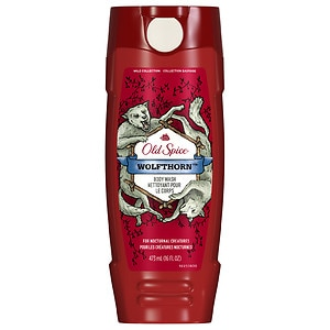 Old Spice Wild Collection Men's Body Wash , Wolfthorn
