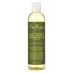 Shea Moisture Bath Body & Massage Oil, Olive & Green Tea&nbsp;
