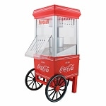 Nostalgia Electrics OFP501COKE Coca-Cola Series Hot Air Popcorn Maker