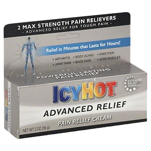 Icy Hot Advanced Pain Relief Cream- 2 oz